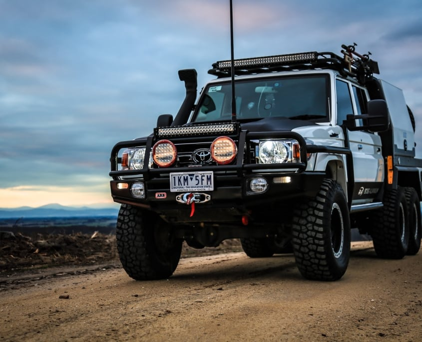 TOYOTA LANDCRUISER 79 SERIES – CUSTOMISED / MODIFIED VEHICLE